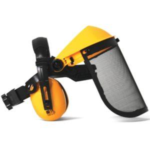 Štitnik za lice – Precizno podesiv – mrežasti sa zaštitnim slušalicama PROFESIONAL (MP9101035)